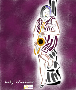 Nancy Lady Woodwind by Neal Battaglia at Sax Station s